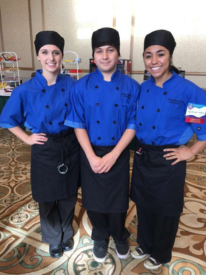 Culinary Arts - Savanna Alaniz, Macy Walker, Malik Berlanga.