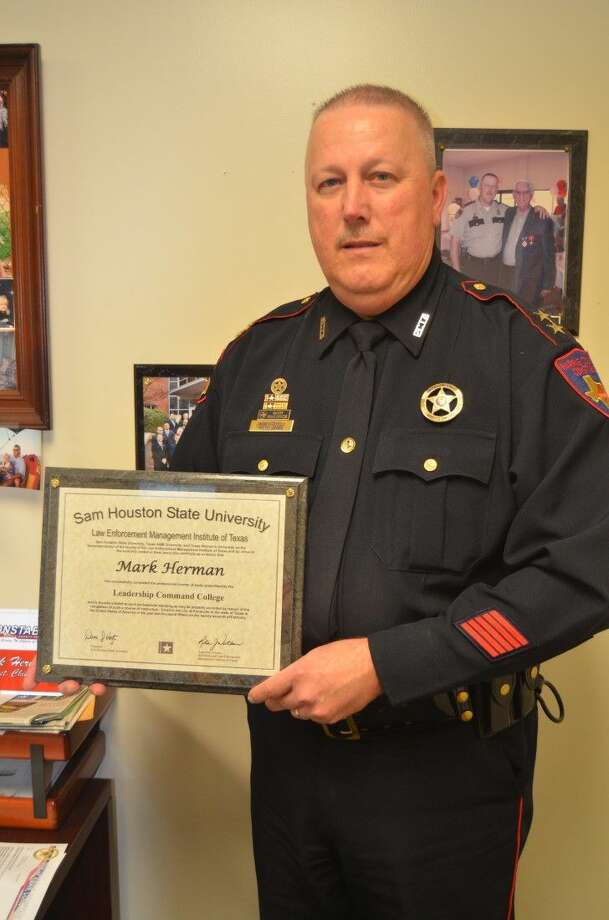 Assistant Chief Mark Herman of Constable Ron Hickman's office recently graduated from the Leadership Command College - Class 72 of the Law Enforcement Management Institute of Texas. Photo: Submitted