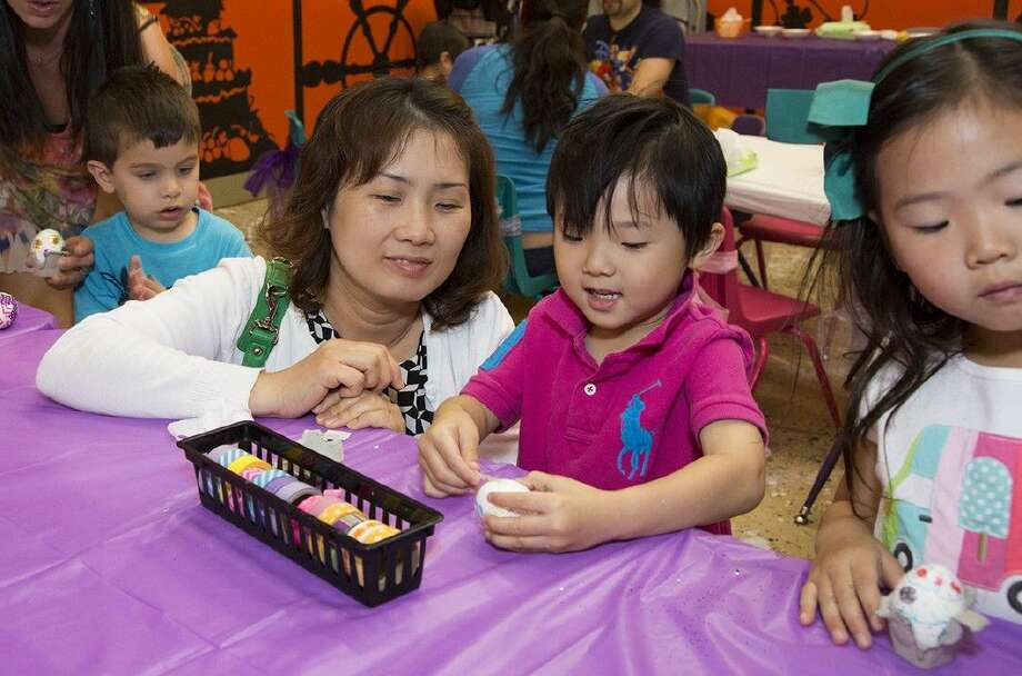 "For an egg-cellent Easter - hop into The Woodlands Children's Museum. From 10 a.m. to 3 p.m. on Friday, April 3 and Sunday, April 4, the museum will host ""Eggtivities,"" an egg-decorating workshop."