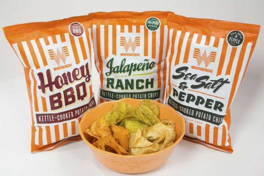 Giving customers a taste of the past, Whataburger and H-E-B announced today the introduction of Whataburger's new Kettle-Cooked Potato Chips.