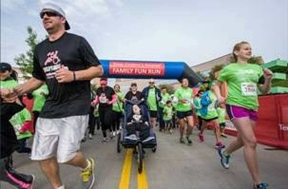 Runners begin the Texas Children's Family Fun Run. Photo: Submitted Photo
