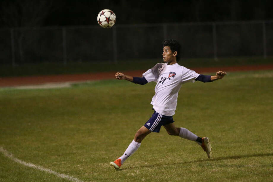 Rosan Rai and the Cy Springs boys' soccer teamare in the regional semifinals for the first time ever. Photo: Michael Minasi
