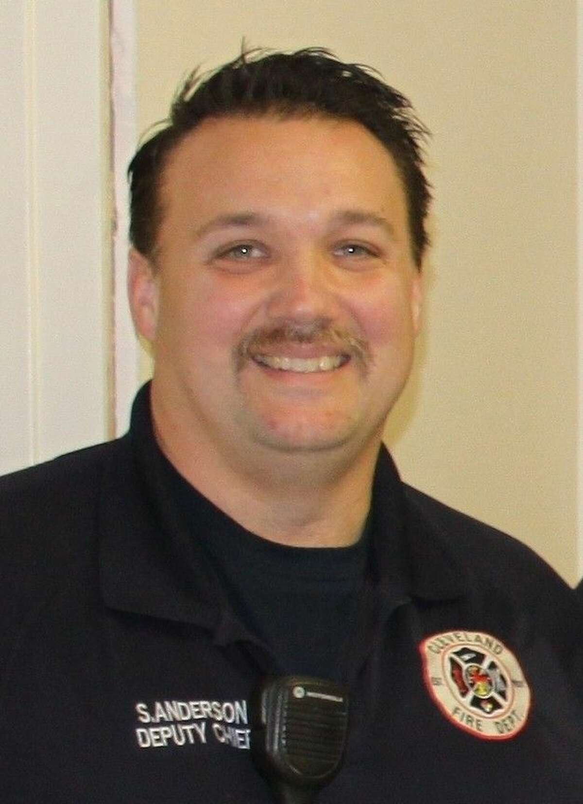 Sean Anderson is the interim fire chief for the City of Cleveland, effective immediately.