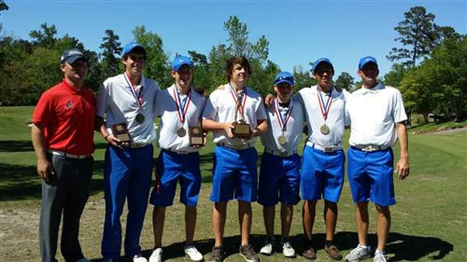 The Atascocita boys golf team won the District 13-5A tournament with a school-record 299 on Tuesday in Spring.