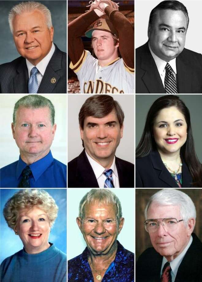 Collage of the nine inductees. Top to bottom, left to right, Dr. Mike McKinney, Dave Freisleben, J. Michael Solar, David Brammer, Dr. John Kirkwood, State Rep. Ana Hernandez, Norris Blevins, Betty Baker and Carter Lomax.