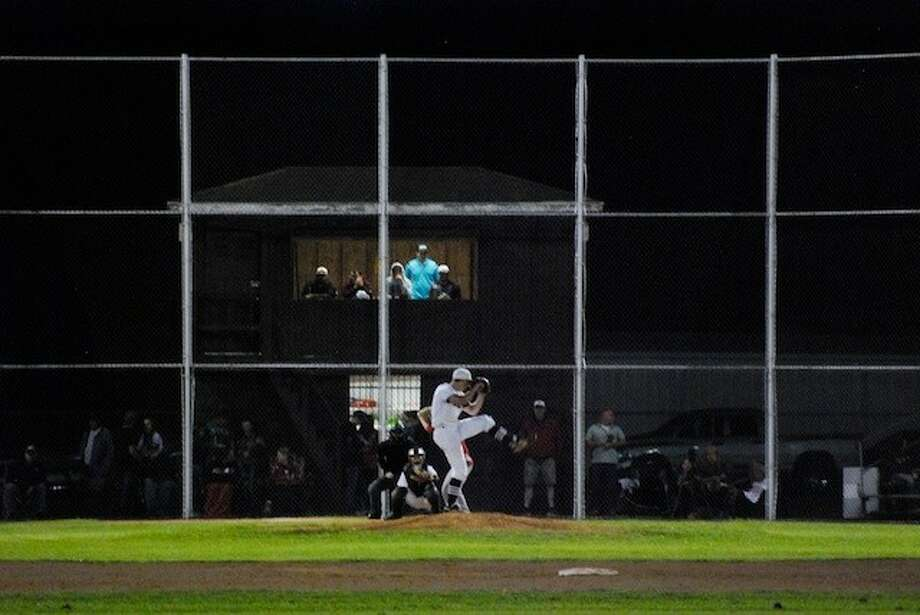 Chance Evans threw nine strikeouts for the Longhorns against Splendora Tuesday night, April 8. Photo: CASEY STINNETT / Houston Community Newspapers, 2014