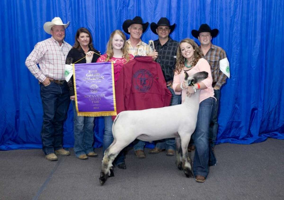 Madison Lynch's lamb was named the Grand Champion during the Junior Livestock Show at the Montgomery County Fair and Rodeo Wednesday. The Splendora FFA member's lamb was sold for $7,500 . Approximately 1,000 exhibitors showed animals, of which 140 were sold at auction.