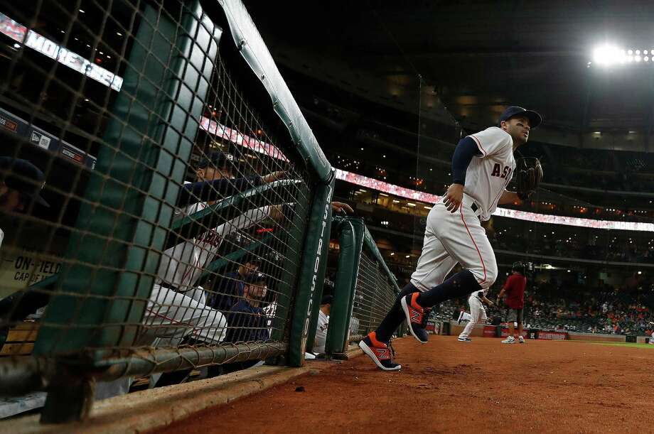 After making a playoff run last season, Jose Altuve and the Astros finished five games out in the race for an American League wild card in 2016. Photo: Karen Warren, Staff Photographer / 2016 Houston Chronicle