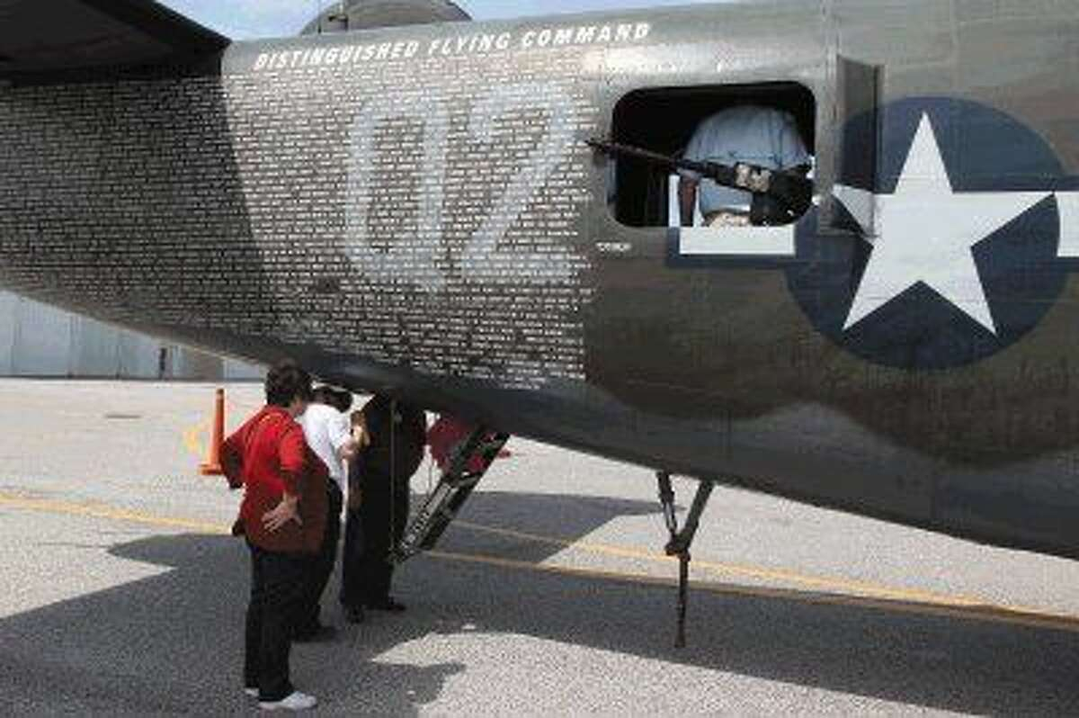 Get up close and explore the B-24J, the only aircraft of this type flying in the U.S.