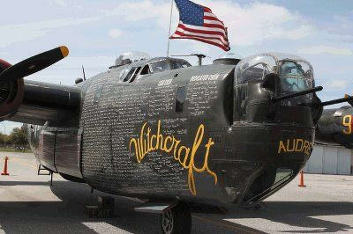 """Tour the Consolidated B-24 Liberator """"Witchcraft"""" WW II Heavy Bomber."""