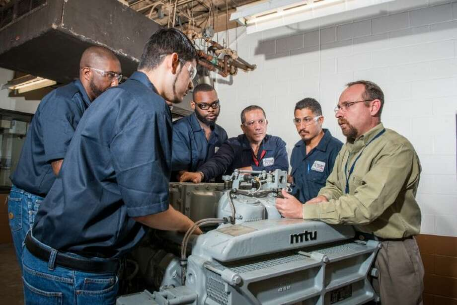 Lone Star College-North Harris industrial diesel technology program is currently accepting applications for the 2014 fall semester. Photo: Submitted Photo