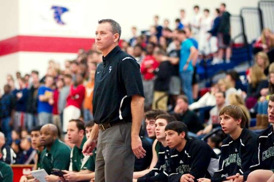 Clear Falls head coach Darren Chandler has been hired as Deer Park High School's new head basketball coach. Photo: KIRK SIDES