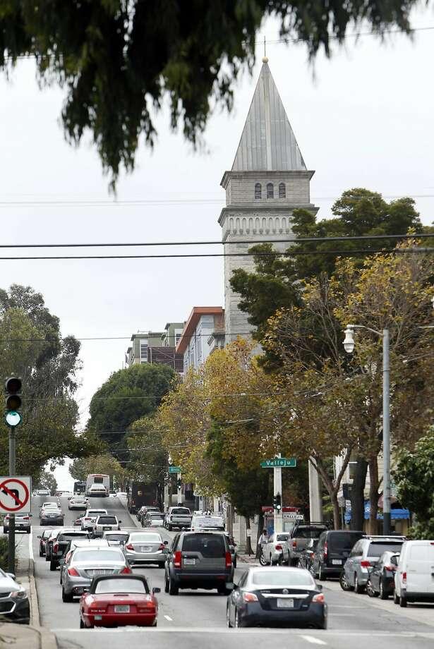 Van Ness Avenue in San Francisco, Calif., on Monday, October 3, 2016. Photo: Scott Strazzante, The Chronicle