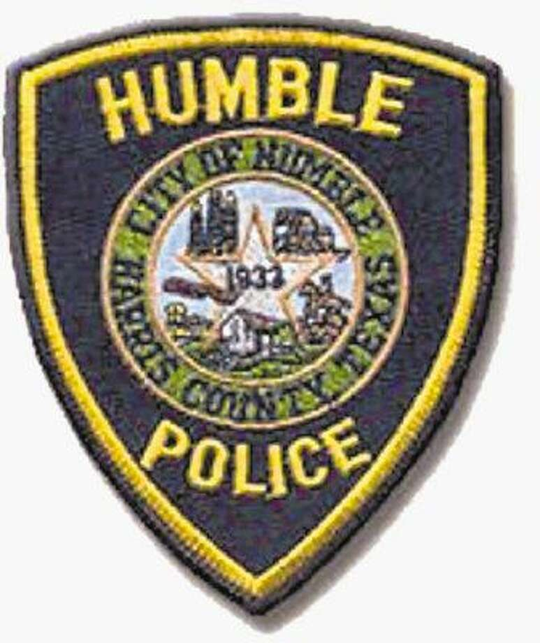 Humble Police Department officers with the assistance of a helicopter and K-9 unit searched the area around the San Jacinto River and Townsen Boulevard for several hours this morning after a man fled police during a short chase.