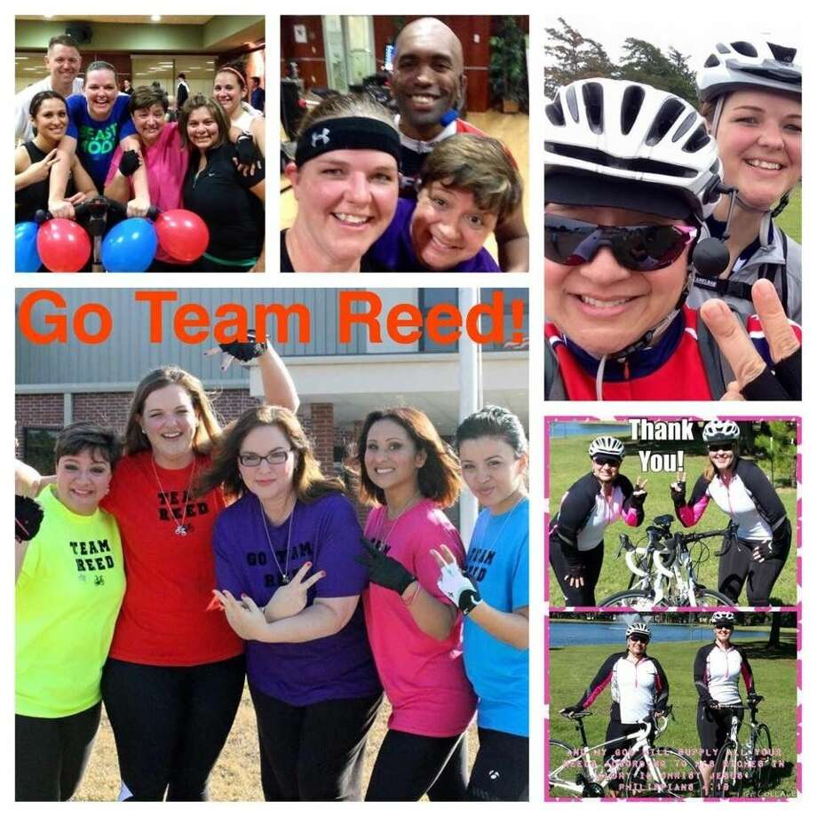 Team Reed trains throughout the year to ensure they are ready to ride in the BP MS 150 this year.