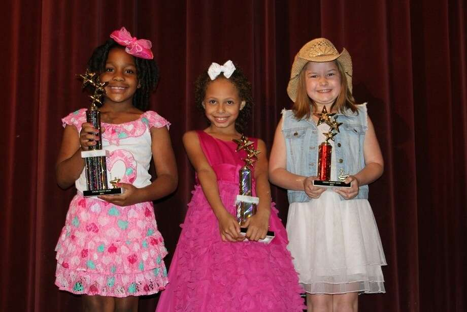 James Street Elementary winners in the COCISD talent shows are (left to right) first place winner I'Kayla Byrd, second place winner Nevaeh Homer and third place winner Paisley Armstrong. Photo: Submitted