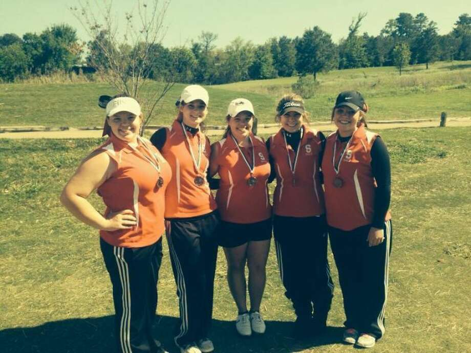 The Splendora girls golf team finished second at the Region III-3A golf tournament last week. Photo: Submitted Photo