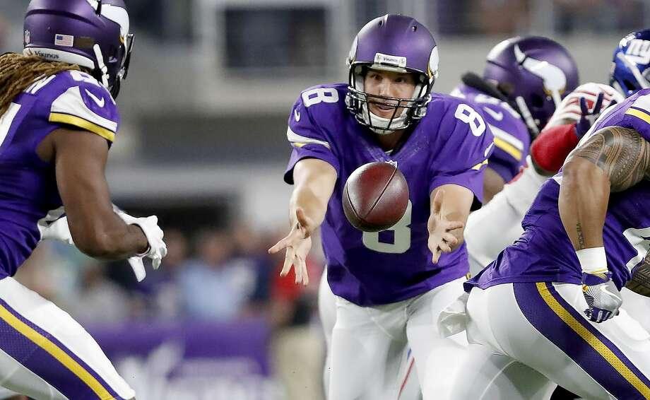 Texans at Vikings:McClain –  VikingsRobertson –  VikingsWilson –  VikingsSolomon –  VikingsSmith –  VikingsCreech –  Texans Photo: Jeff Wheeler, TNS
