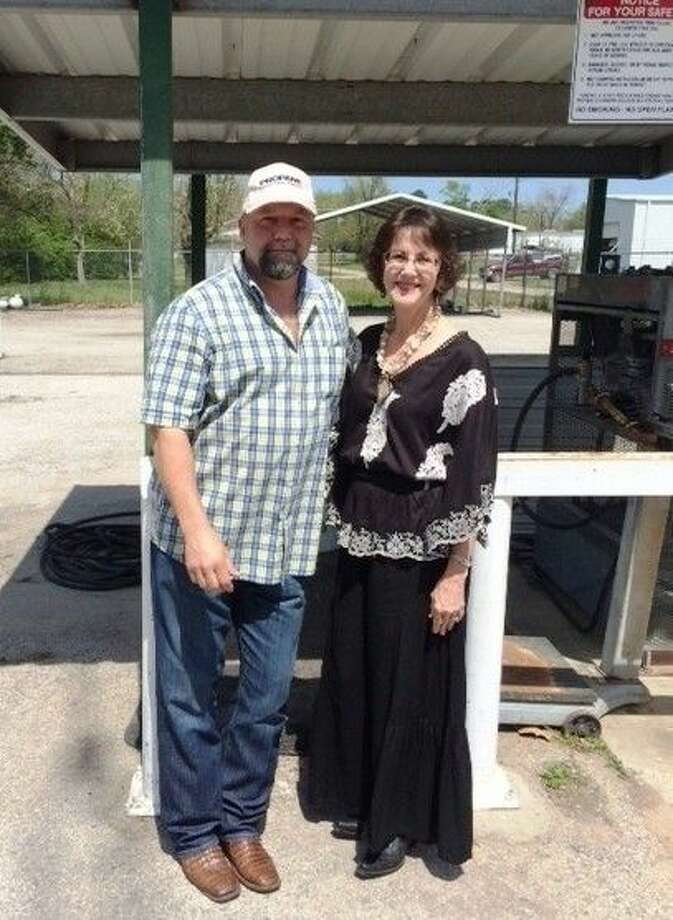 Buster Brown Propane in New Caney recently acquired Ferguson Propane in Cleveland. Owner Jan Peterson, shown with Ferguson Propane Owner Larry Ferguson, is looking forward to offering more services to a wider area. Photo: Submitted