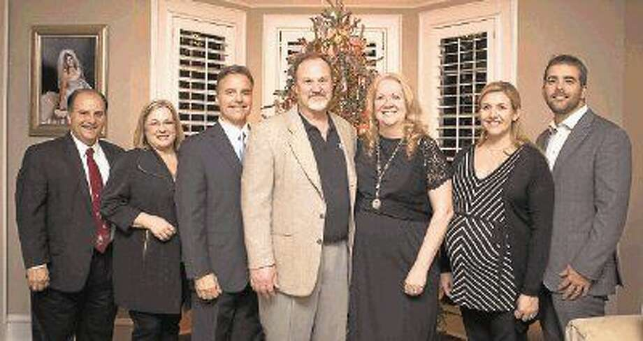 """The honorees for the upcoming Habitat for Humanity Montgomery County 2015 Building Hope Gala, """"An Evening at Downton Abbey,"""" are, left to right: Ron and Cyndi Brandt, Community Honorees; Steve Brown and Tom and Jean Gosse, representing St. Anthony of Padua Catholic Church, Faith-Based Honoree; and Megan and Cole Pate, of Strike LLC, Corporate Honoree."""