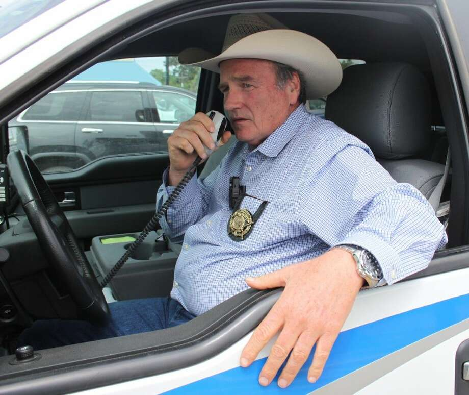 Constable Sam Houston serves the people of Pct. 3 in San Jacinto County. He has decades of experience as a police officer, a firefighter and an EMS paramedic. Photo: Jacob McAdams