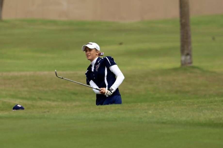 Clear Lake golfer Kari Bush will compete in Austin Monday and Tuesday in the Class 5A state golf tournament after finishing second at the Region III-5A meet this past week. Photo: SUBMITTED PHOTO