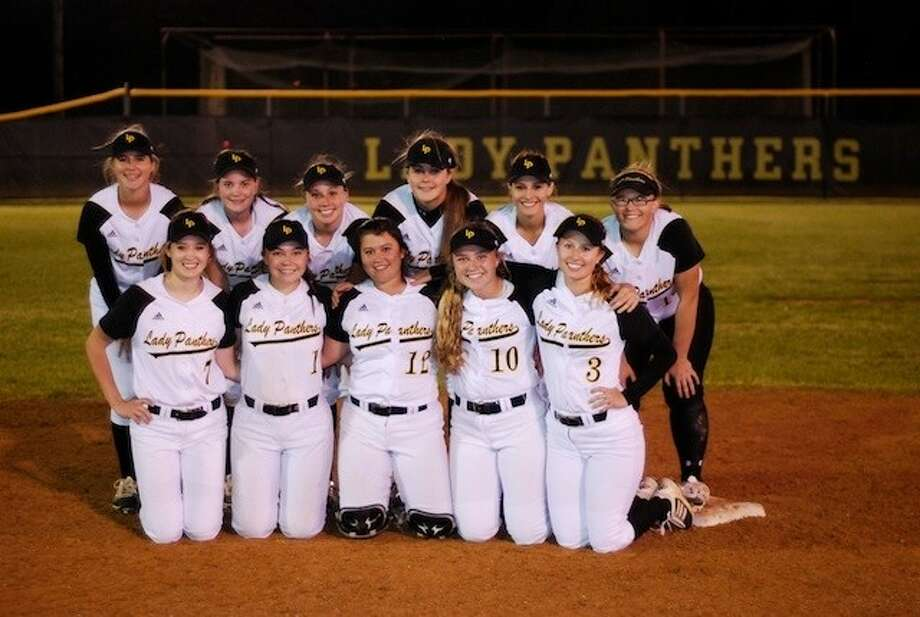 Liberty's Lady Panthers won 8-2 over Hardin-Jefferson in the first of their best-of-three bi-district series. Photo: CASEY STINNETT / Houston Community Newspapers, 2014