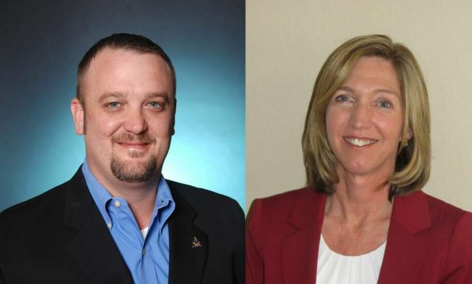 In the race for Alvin ISD Board of Trustees, Position Seven Trustee Charles McCauley is not seeking re-election. Two candidates are running to serve as his replacement: Alvin-resident Chad Dudley (pictured left) and Vivian Scheibel, (pictured right) who lives in Pearland's Shadow Creek Ranch.