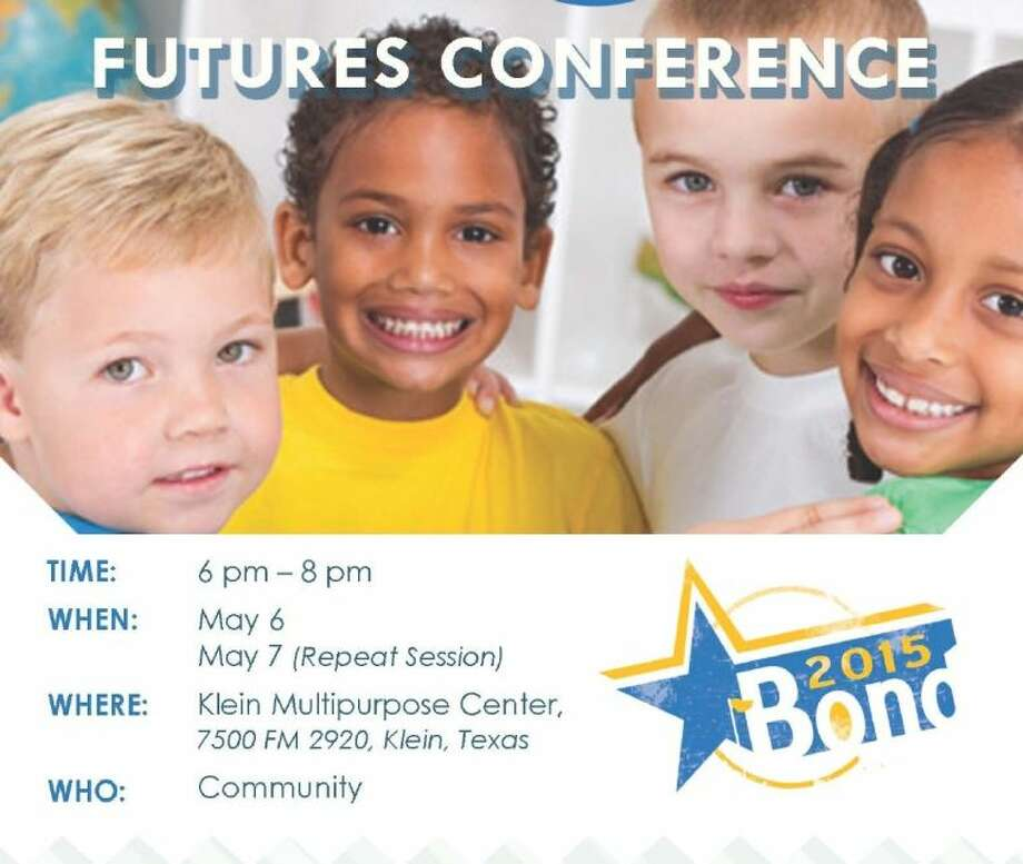 Futures Conference will discuss the educational needs of students in the Klein ISD. Photo: Submitted Photo