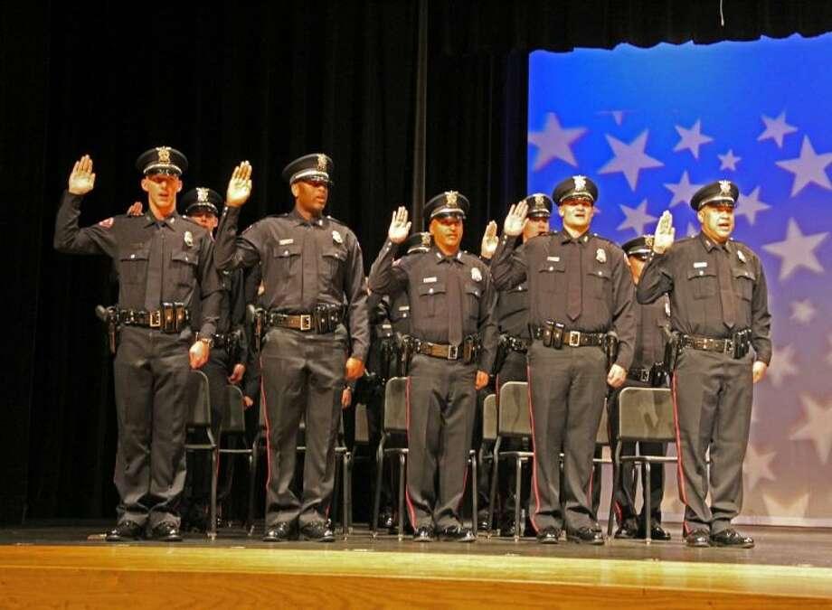 Pasadena Police Dept. Basic Police Academy Graduation Ceremony held Friday (April 25) Photo: KRISTI NIX