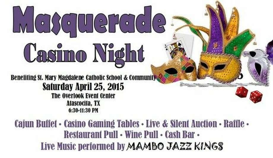 The community is invited to this year's Masquerade Casino Night Gala on Saturday, April 25 from 6:30-11:30 p.m. at The Overlook located in Atascocita.