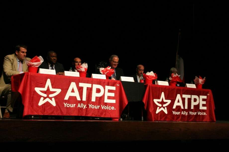 The six candidates vying for their respective seats on the Humble Independent School District's Board of Trustees met in the first Candidate Forum April 9, 2015.
