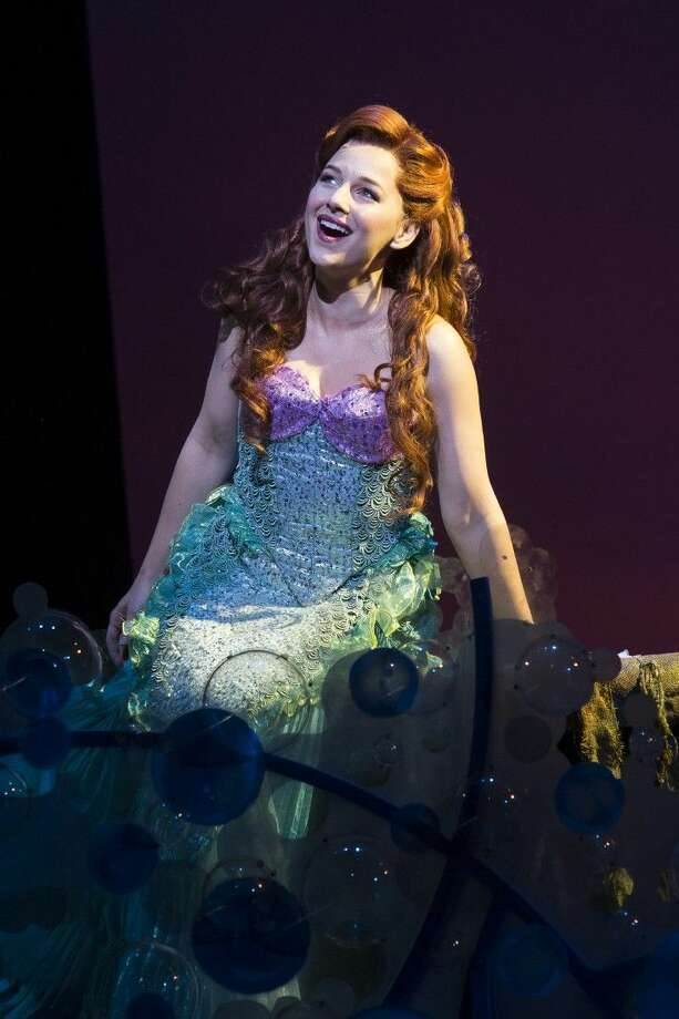 "Theatre Under the Stars - TUTS production of ""The Little Mermaid"" tech rehearsal. Photo: Bruce Bennett"