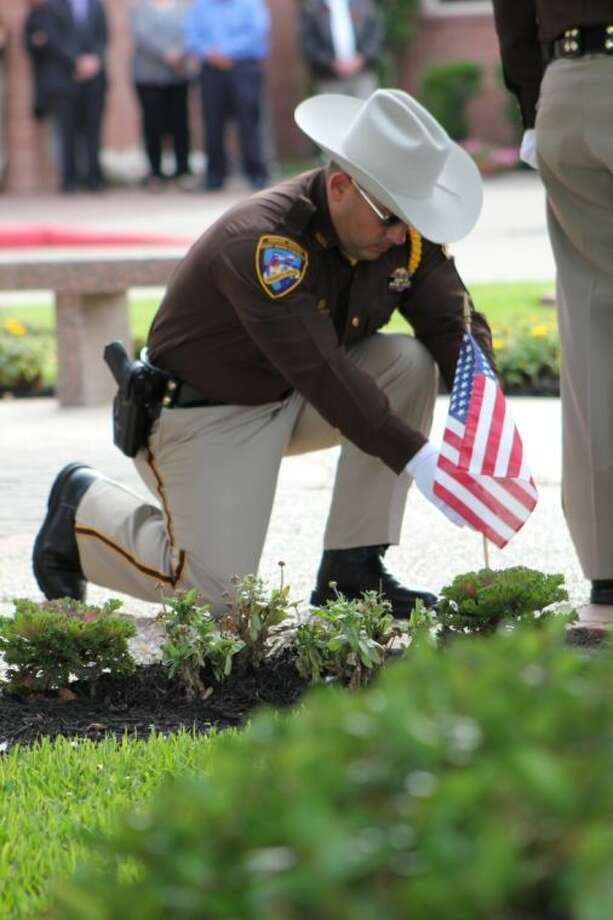 An image from last year's Fort Bend County Peace Officer Memorial Service. Photo: Photo Courtesy FBCSO