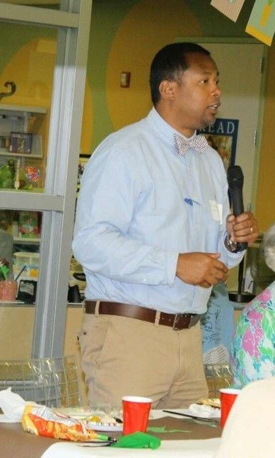 Edward Melton, new director of Harris County Public Library, will be the guest speaker at the May 12 FOAL meeting.