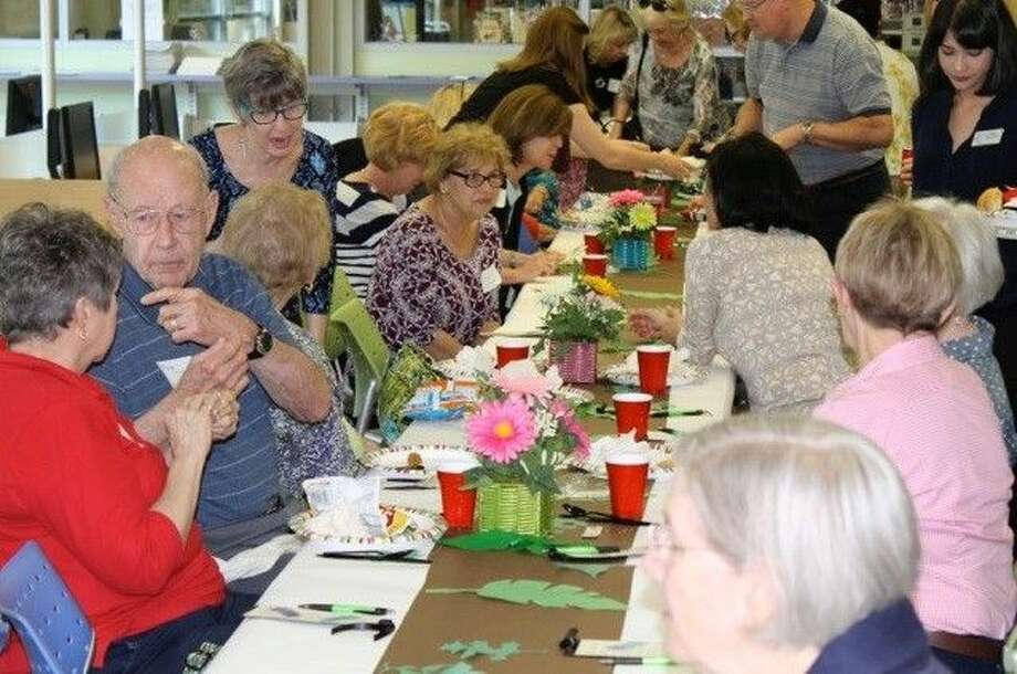 The Kingwood Branch Library honored all its volunteers at a luncheon hosted by the Friends of the Library Kingwood (FOLK.)