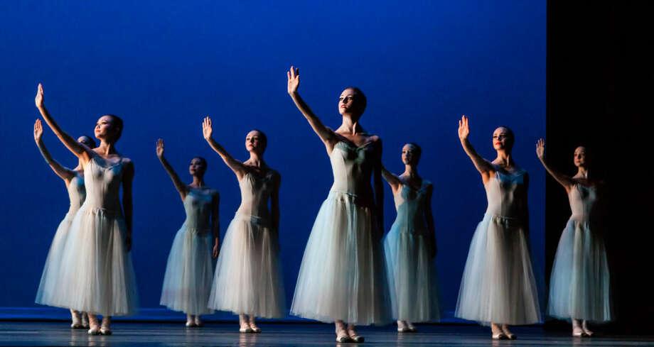 Serenade 2014 Artists of Houston Ballet Academy Photo: Amitava Sarkar