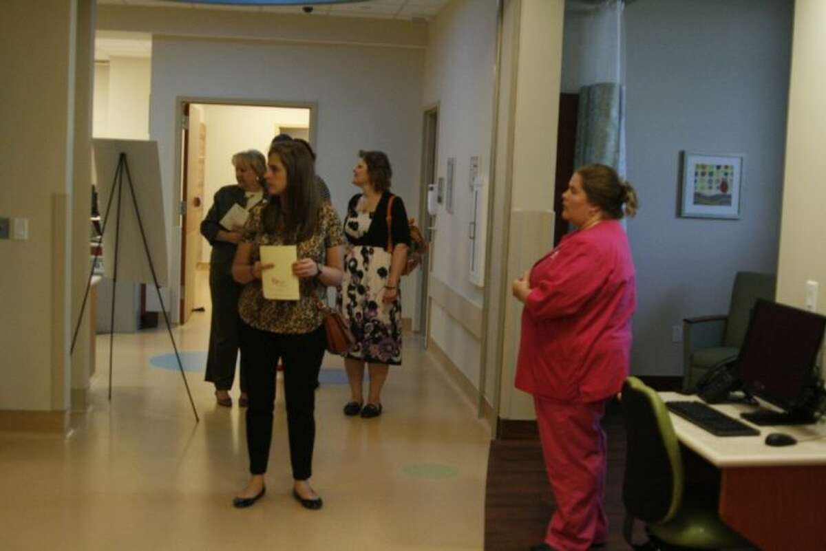 Guests had the chance to tour through the Neonatal Intensive Care Unit at the grand opening of The Women & Children's Center at Kingwood Medical Center Tuesday, April 29, 2014.