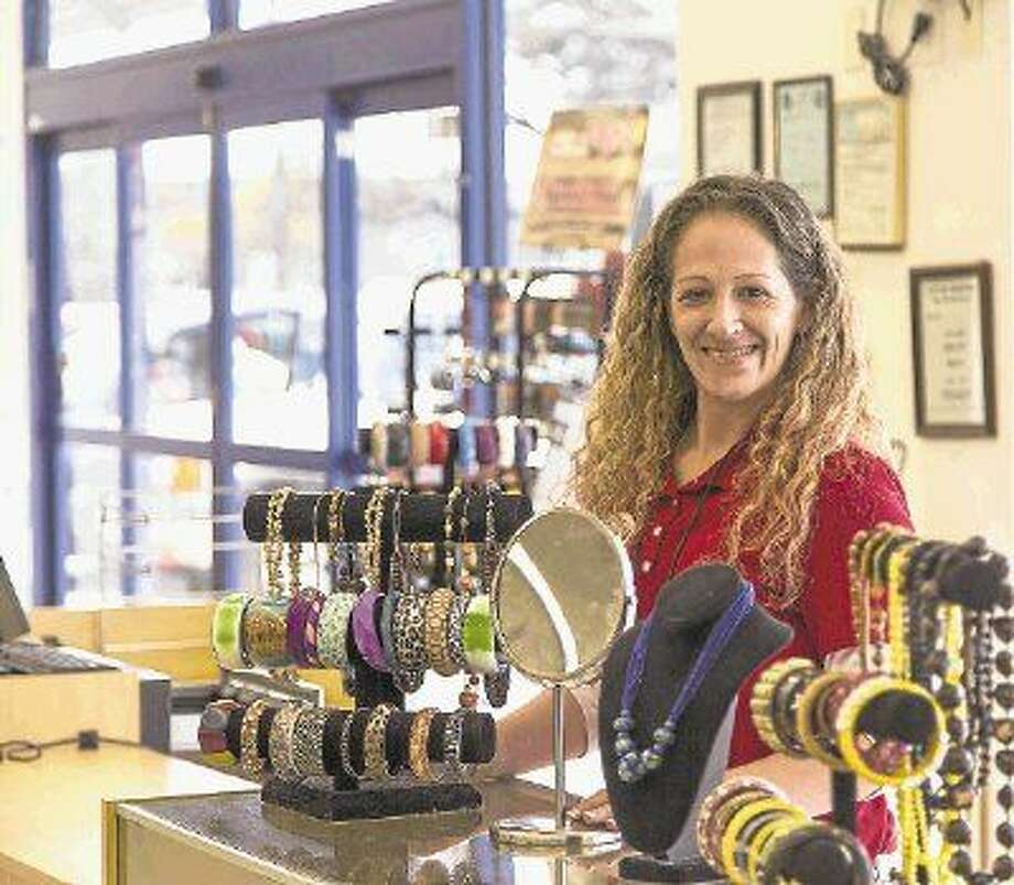 At Goodwill stores throughout the area, there is an array of jewelry products for women to augment their outfits. Photo: DMeans