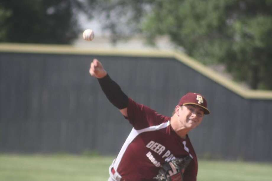 Tyler Wesley is bringing a 7-0 season record on the hill to the state playoffs this week. He's struck out 49 batters in 45 innings, while walking 11. Photo: Robert Avery