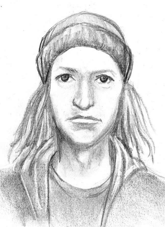 A police sketch of the man wanted for forcing a woman at gunpoint to drive him from Sugar Land to north Houston. Photo: Photo Courtesy SLPD