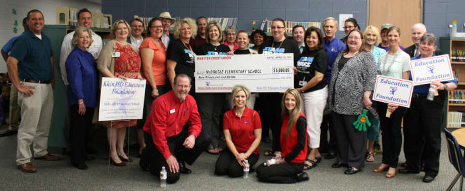 McDougle Elementary received a grant.
