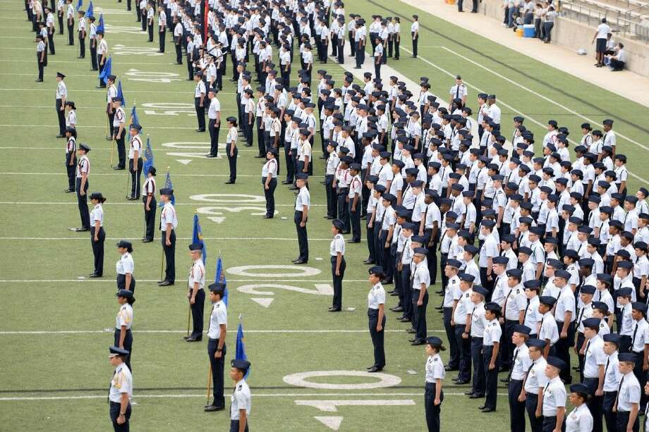 Approximately 1,600 cadets from 10 CFISD high schools and eight JROTC units will perform at the 13th annual Pass in Review. Photo: Submitted Photo