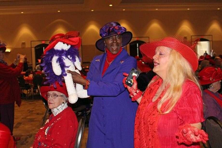 Gather the sisterhood and bring the Queen Mother to put on the glitz and glamour for a Red Hatter's Birthday Party featuring Moses Rangel and more Wednesday, April 22, 2015.