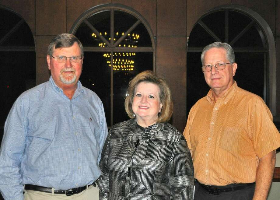 Deer Park Community Advisory Council members celebrated its 25th anniversary with 3 of its charter members still participating actively in the community-industry forum. Pictured (L-to-R) are Russell Elfstrom, Norma Hysler and Ken Donnell.