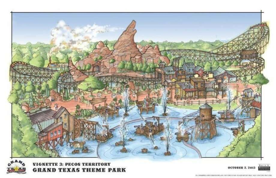 The developers for Grand Texas Sports and Entertainment District expect the theme park and water park to be ready and open for the public in 2015.