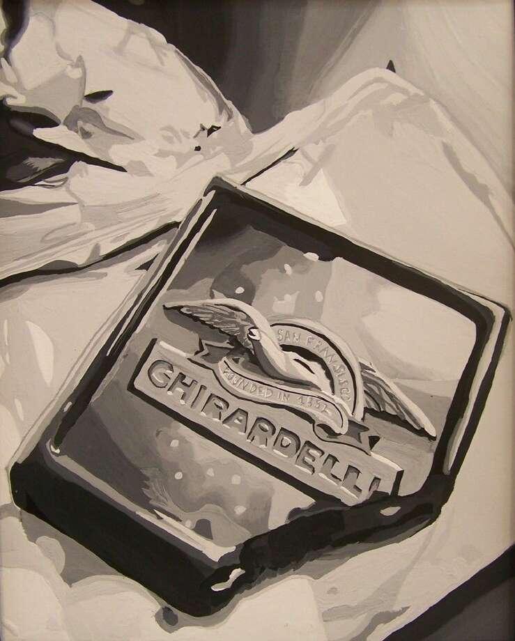 Title: A Bit of Chocolate; Artist: Shivani Patel; Medium: Gouache Photo: Picasa