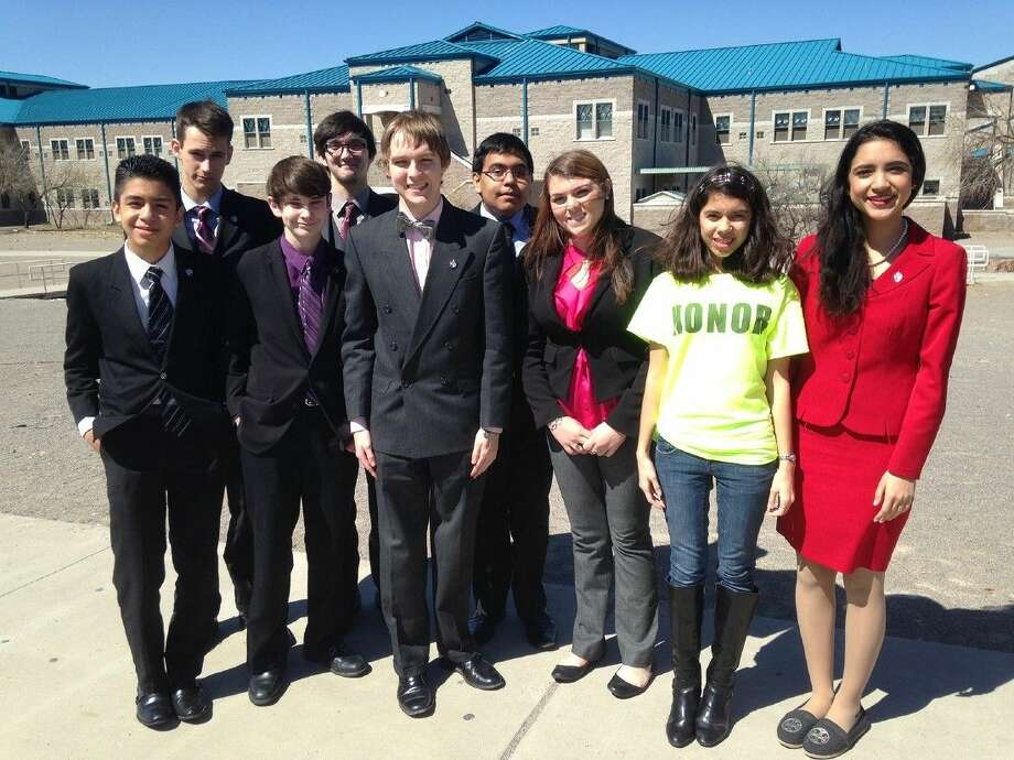 Cypress Creek debate students complete a successful TFA State Championship in El Paso last month. Pictured (back row, L-R) are Thomas Linden, Colin Price and Richard Galvan; and (front row) Juan Mendoza, Daniel Lehmann, Harland Ashby, Haley Henson, Emma Miller and Avneet Randhawa.