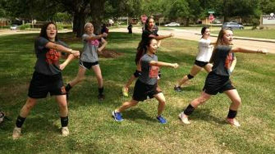Parents say a coach treated the girls like dogs, embarrassing them in front of other students because of a complaint over a cheer. Photo: ABC13 Eyewitness News