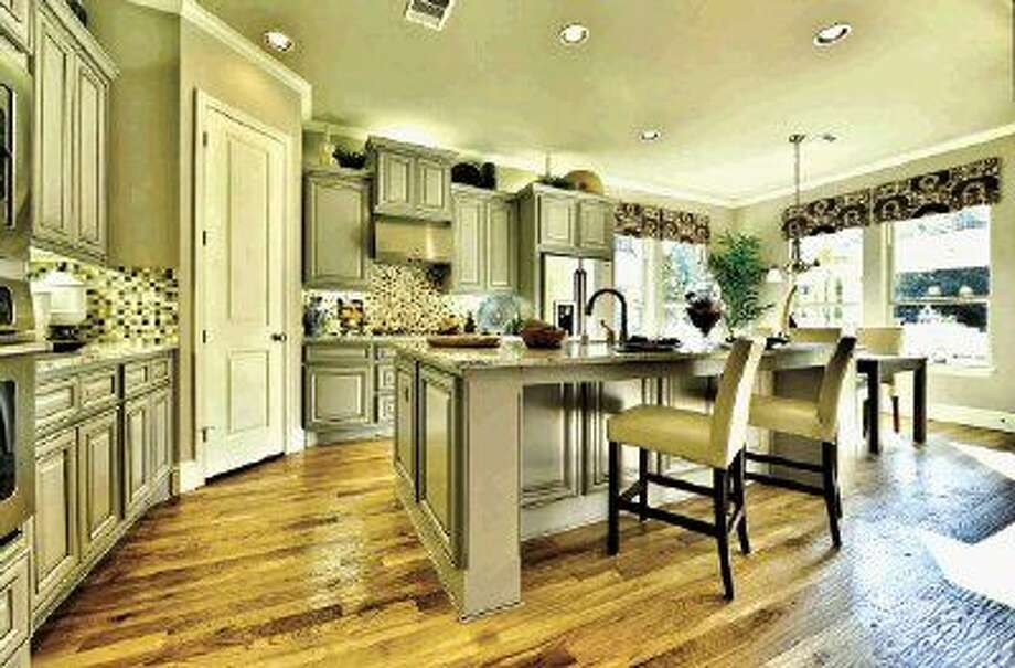 Darling Homes' designs within the community are architecturally diverse, featuring brick and stone one and two-story elevations with formal dining rooms, gourmet kitchens, breakfast areas, spacious master bedrooms, upstairs game rooms and more.